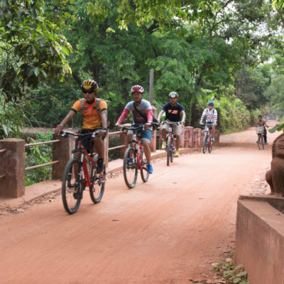 Angkor Zipline Gold Eco-Adventure & Bike Tour Combo