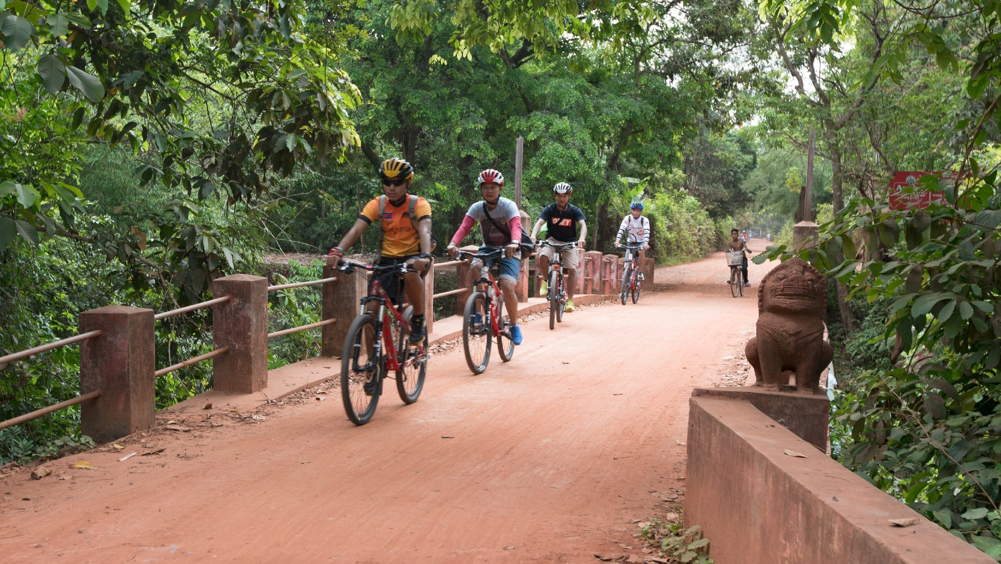 NEW Angkor Bike And Zipline Eco-Adventure Combo Booking