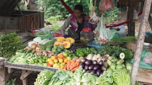 Siem Reap Local Market