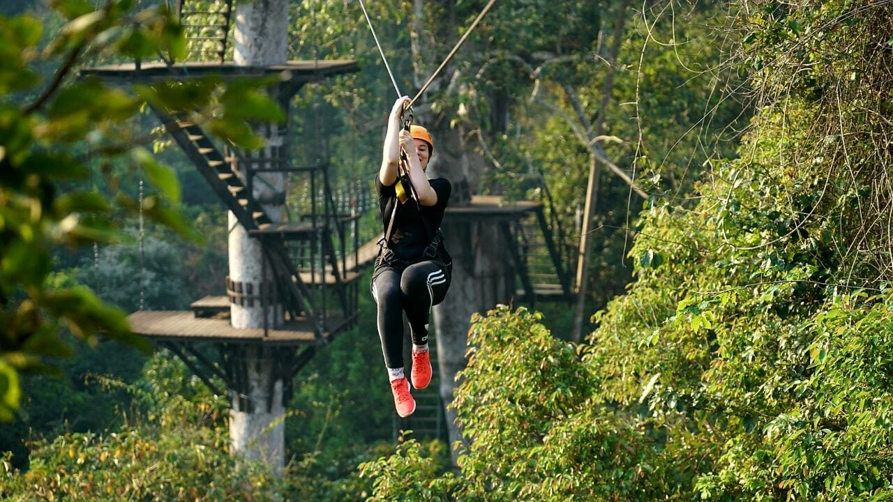 Zipline Tour Full Course Eco-Adventure