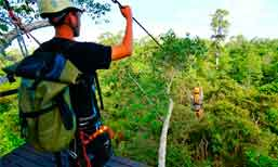 Angkor Zipline and Adventure Sports!