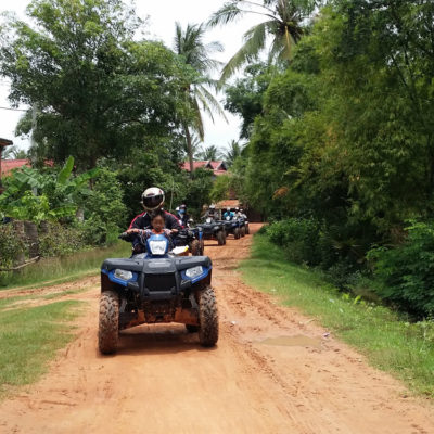 Angkor Zipline Gold Eco-Adventure & Quad (ATV) Tour Combo