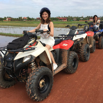 Angkor Zipline Silver Eco-Adventure & Quad (ATV) Tour Combo